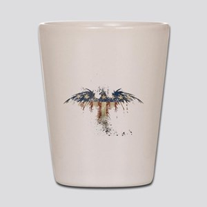 Americana Eagle Shot Glass