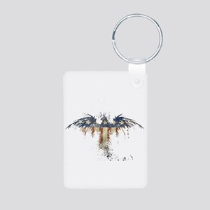 Americana Eagle Aluminum Photo Keychain