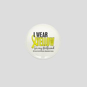 I Wear Yellow 10 Endometriosis Mini Button