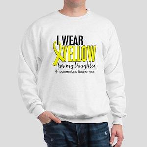 I Wear Yellow 10 Endometriosis Sweatshirt