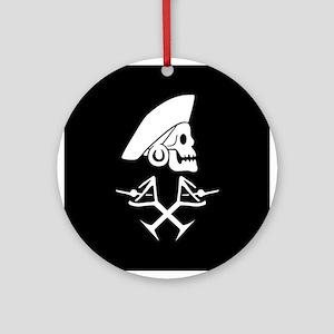 Martini Pirate Ornament (Round)