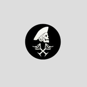 Martini Pirate Mini Button