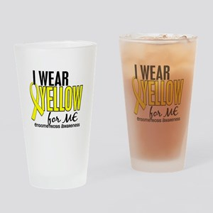 I Wear Yellow 10 Endometriosis Drinking Glass