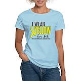Endometriosis yellow ribbon Women's Light T-Shirt