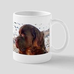 Brown Newfie Mug