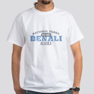 Denali National Park Alaska White T-Shirt