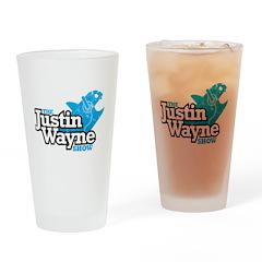The Justin Wayne Show Pint Drinking Glass