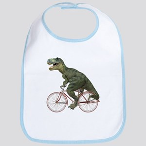 Cycling Tyrannosaurus Rex Bib