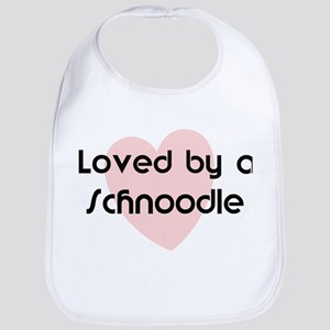 Loved by a Schnoodle Bib