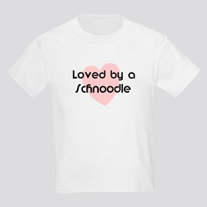 Loved by a Schnoodle Kids T-Shirt