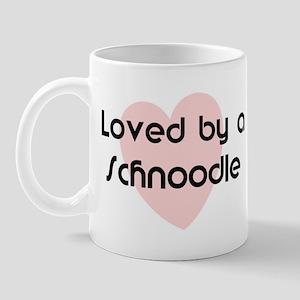 Loved by a Schnoodle Mug