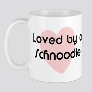 Loved by a Schnoodle Mug
