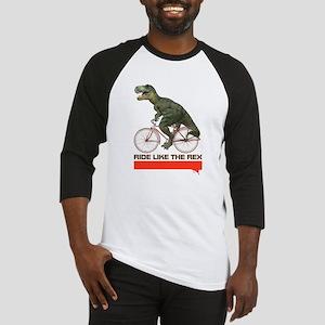 Tyrannosaurus Rex Cyclist Baseball Jersey