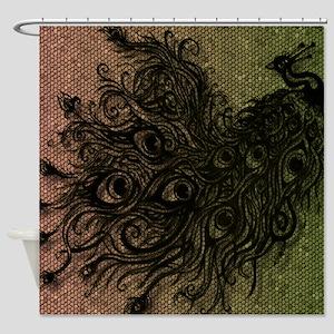 Peacock (various Designs) Shower Curtain