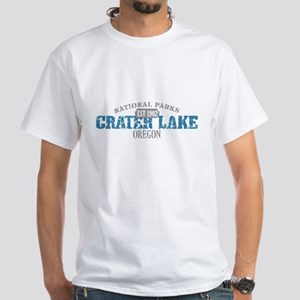 Crater Lake National Park OR White T-Shirt