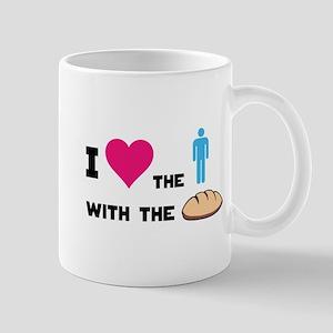 HG The boy with the bread Mug