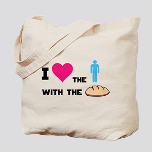 HG The boy with the bread Tote Bag