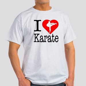 I Love Karate Light T-Shirt