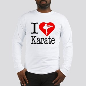 I Love Karate Long Sleeve T-Shirt