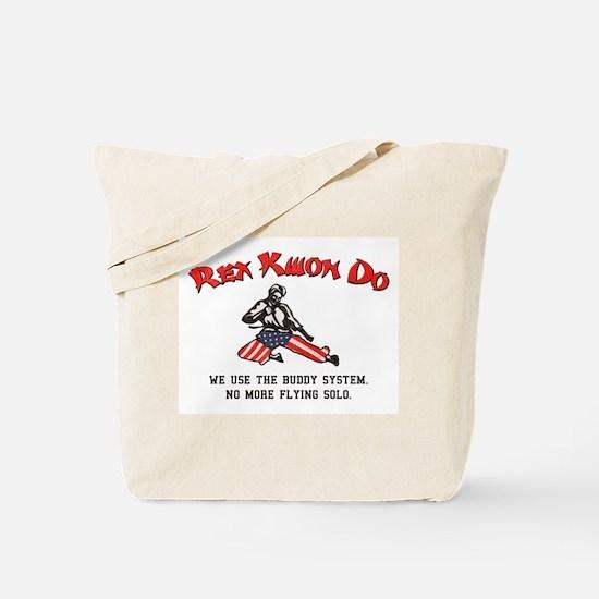 Rex Kwon Do (Vintage Look) Tote Bag