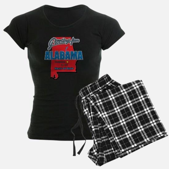 Greetings From Alabama pajamas