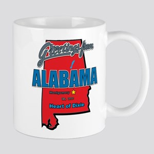 Greetings From Alabama Mug