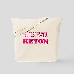 I Love Keyon Tote Bag