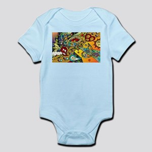 Psychedelic Cycle Of Life Infant Bodysuit