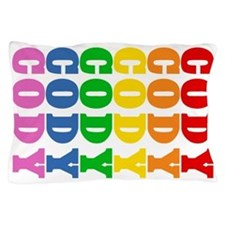 Rainbow Name Pillow Case