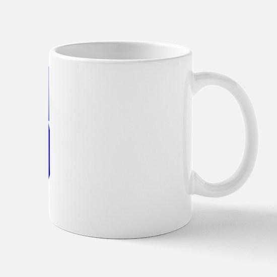 Varsity Uniform Number 85 (Blue) Mug
