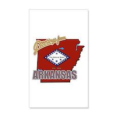Greetings From Arkansas 38.5 x 24.5 Wall Peel