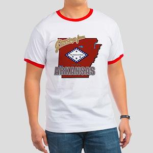 Greetings From Arkansas Ringer T