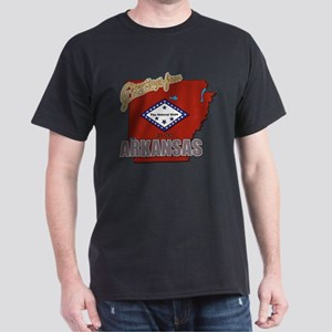 Greetings From Arkansas Dark T-Shirt