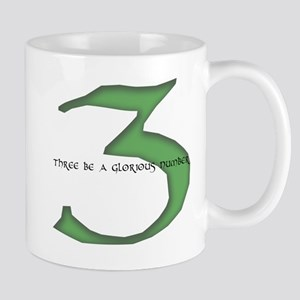 Three be a glorious number Mug