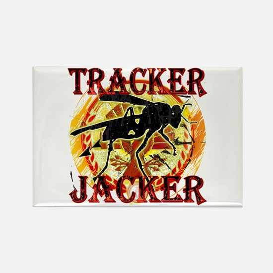 Tracker Jacker Hunger Games Gear Rectangle Magnet