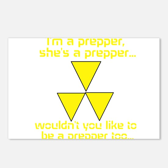 BE A PREPPER Postcards (Package of 8)