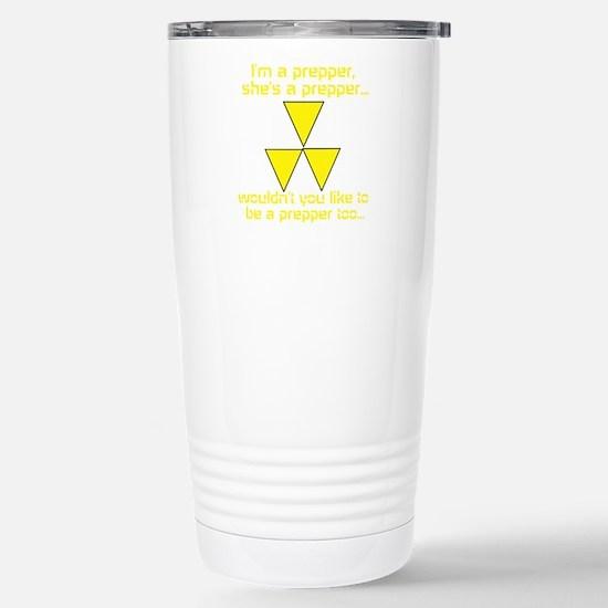 BE A PREPPER Stainless Steel Travel Mug