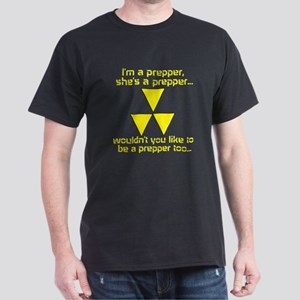 BE A PREPPER Dark T-Shirt