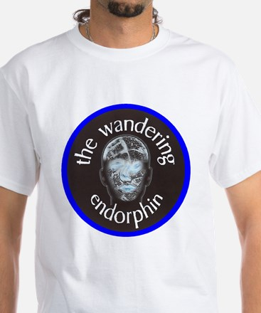 The Wandering Endorphin White T-Shirt