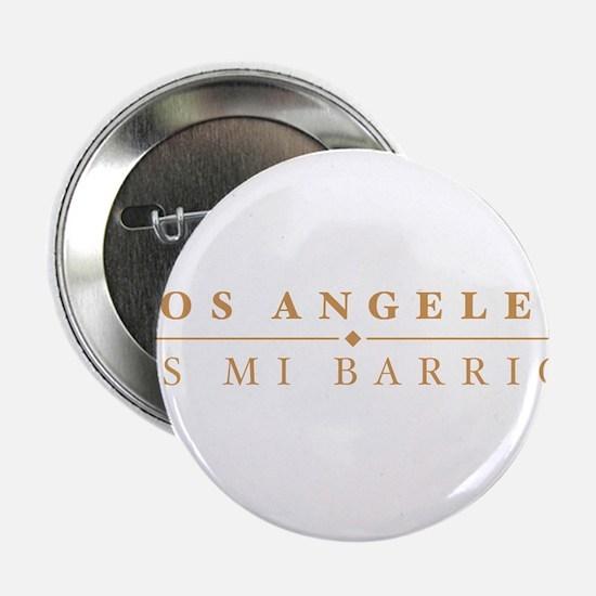 """LA - Los Angeles Mi Barrio 2.25"""" Button"""