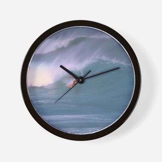 Surfing1 Wall Clock