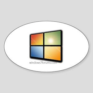 Windows7Forums.com Branded Sticker