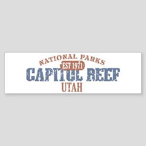 Capitol Reef National Park UT Sticker (Bumper)