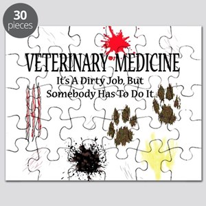 Vet Med It's A Dirty Job! Puzzle
