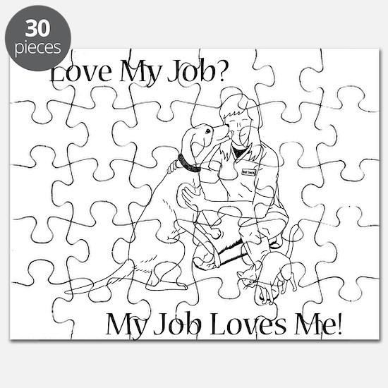 Veterinary Technician Design Puzzle