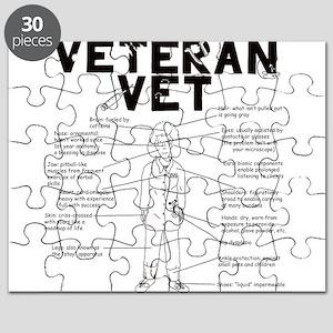 Veteran Vet Female Puzzle