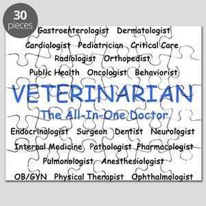Veterinarian The All-In-One D Puzzle