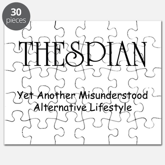 Misunderstood Thespian Puzzle