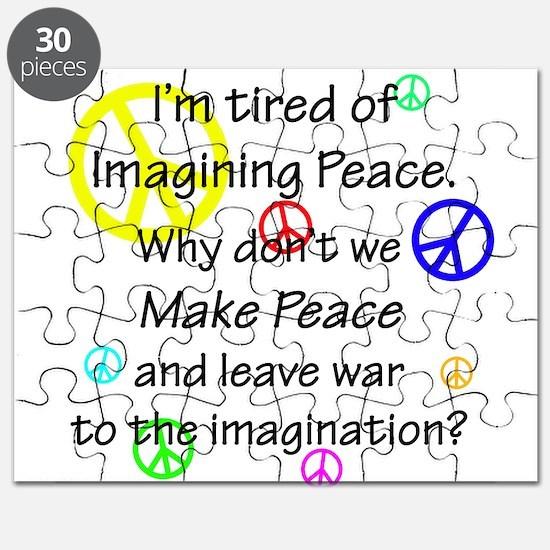 Make Peace/Imagine War Puzzle