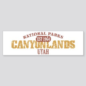 Canyonlands National Park UT Sticker (Bumper)